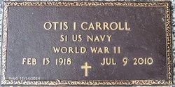 "Otis Iverson ""Ike"" Carroll"