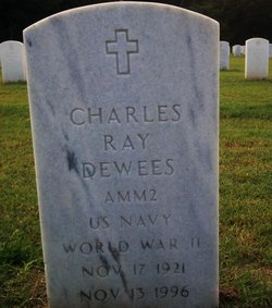 """Charles Ray """"Ray"""" Dewees, Sr"""