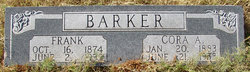 Cora A <I>Leatherwood</I> Barker