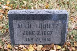 Allie Irene Quiett