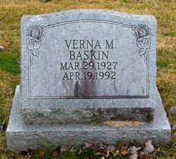 Verna M <I>Bixler</I> Baskin