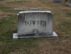 Laura <I>Lentz</I> Bowden