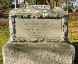 Sarah R. <I>Sears</I> Crowell