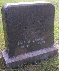 Mary <I>Cook</I> Barnett