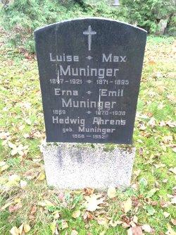 Hedwig <I>Muninger</I> Ahrens