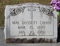 Mae <I>Dossett</I> Chain