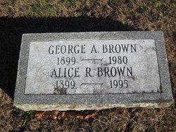 Alice R <I>Rocke</I> Brown