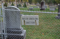 Brith Sholom Cemetery (Old)
