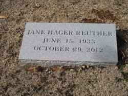 Jane Marie <I>Hager</I> Reuther