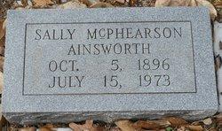 "Sarah ""Sallie"" <I>McPhearson</I> Ainsworth"