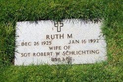 Ruth M Schlichting