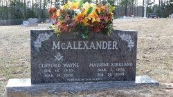 Maurine <I>Kirkland</I> McAlexander