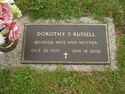 Dorothy Louise <I>Staggs</I> Russell