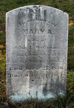 Mary A. <I>Mitchell</I> Williams