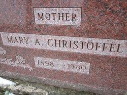 Mary <I>Baatz</I> Christoffel