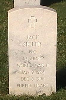 PFC Jack Sigler