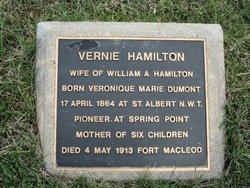"""Veronique Marie """"Vernie"""" <I>Dumont</I> Hamilton"""