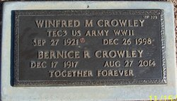 Winfred M Crowley