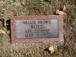 Nellie <I>Brown</I> Boyd
