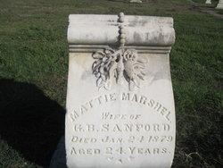 Mattie Marshall Sanford