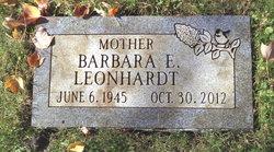 Barbara E <I>Naleway</I> Leonhardt