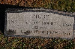 Dorothy W <I>Chew</I> Rigby