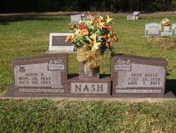 Faye <I>Rials</I> Nash