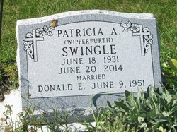 Patricia A <I>Wipperfurth</I> Swingle