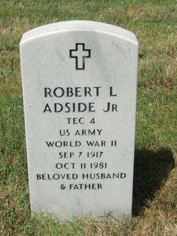Robert L Adside, Jr