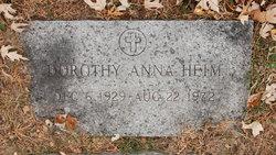 Dorothy Anna <I>Kimbley</I> Heim