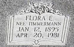 Flora E. <I>Timmermann</I> Ahlers