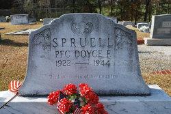 PFC Doyce F. Spruell