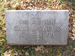 Clara <I>Saunders</I> Sachs