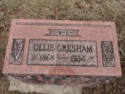 Ollie Belle <I>Thompson</I> Gresham