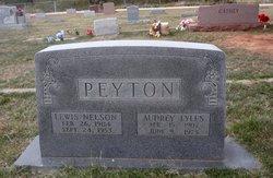 Audrey <I>Lyles</I> Peyton