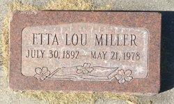 Etta Lou <I>Hawkins</I> Miller
