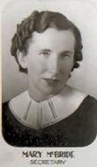 Mary Muriel <I>McBride</I> Hubbard