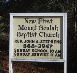 New First Mount Beulah Baptist Church