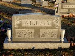 Mary Inez <I>Williams</I> Willett