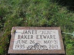 Janet Mary <I>Exware</I> Baker