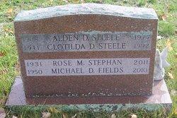"""Clotilda Dorothea """"Tillie"""" <I>Mederios</I> Steele"""