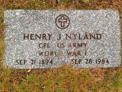 Corp Henry Joseph Nyland