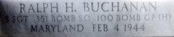 SSgt Ralph H Buchanan