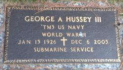 George A Hussey, III
