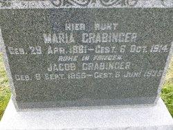 "Maria ""Mary"" <I>Roeder</I> Grabinger"