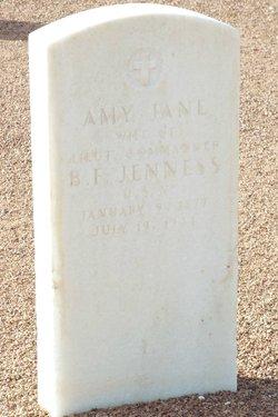 Amy Jane <I>Baker</I> Jenness