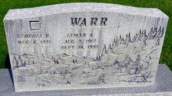Lyman A Warr