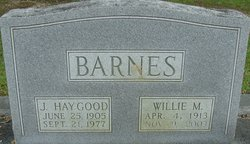 J Haygood Barnes