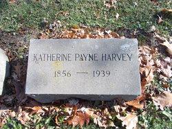 Katherine <I>Payne</I> Harvey