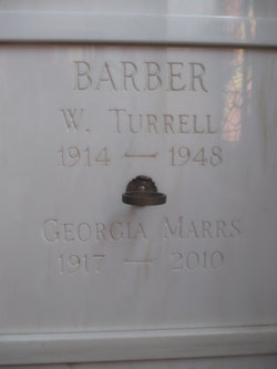 Georgia Marrs <I>Marrs</I> Barber